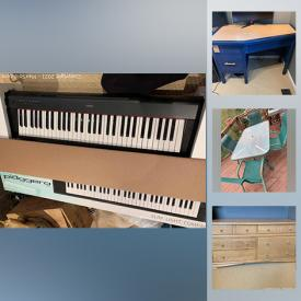 MaxSold Auction: This online auction features Prom dresses, a Microscope, jewelry-making supplies, Yamaha keyboard, sewing notion and pattern, Nintendo DS games, Blown Eggs for Crafting with stands and painting supplies, IKEA bookcase, sporting goods, winter tires and more!
