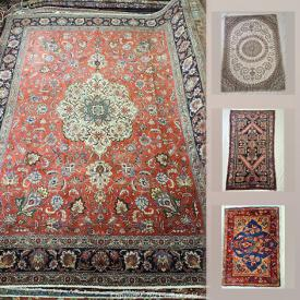 MaxSold Auction: This online auction features new and vintage Persian rugs.