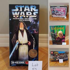 MaxSold Auction: This online auction features Star Wars collectibles, NIB Funko pop, NIB collectible action figures, sports cards, toy train set, NIB legos, NIB fidget spinners and much more!