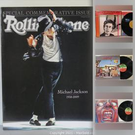 MaxSold Auction: This online auction features vinyl records & CDs from artists such as AC/DC, Louis Armstrong, Joni Mitchell, The Beatles, The Clash, Bruce Cockburn, Keith Jarrett Trio, and many others, and pet tracker, cabinet knobs, Trinket Box and much more!