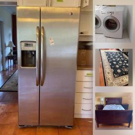 MaxSold Auction: This online auction features Closet Doors, Toilets, Vanity Sinks, Window Blinds, Electric Stove, Refridgerator, Area Rug, Fireplace Mantel, Baby Items, Skis, Fireplace Inserts, Toys, Washer, Dryer, Patio Furniture and much more!
