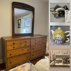 MaxSold Auction: This online auction features BBQ Grill, Novelty Teapot, Power Washer, Guitar Amp, Lawnmower, Teak Outdoor Bench, Bedroom Furniture, and Much, More!!