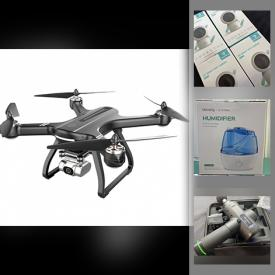 MaxSold Auction: This online auction features New in Open Box Items such as Drone, Ring Lights, Gamer Gear, Webcams, Beauty Appliances, Toys, Pet Training, Computer Gear, and Much, Much, More!!