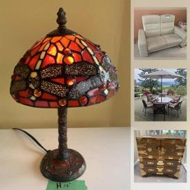 MaxSold Auction: This online auction features original artwork, patio furniture, fine china, stained glass lamp, dining room furniture, vintage dolls, small kitchen appliances, collectible teacups and much more!