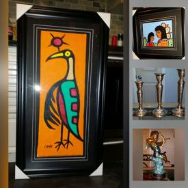 MaxSold Auction: This online auction features Originals by Don Chase, Steve Snake, David Morrisseau, and Fine Art Prints by Maud Lewis, Tom Thomson, Emily Carr, Norval Morrisseau, and Bronze sculptures and more!