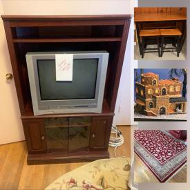 MaxSold Auction: This online auction features Asian decor, artwork, vintage lamps and lights, vintage furniture, vintage electronics, vintage typewriters, lift chair, department 56, Fontanini figurines, jewelry and much more.
