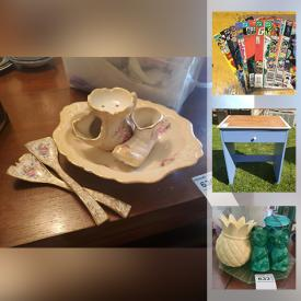 MaxSold Auction: This online auction features small kitchen appliances, Games & Toys, Hockey Jersey, Angel Collection, Costume Jewelry, Guitar, Porcelain Dolls, Craft Supplies and much more!