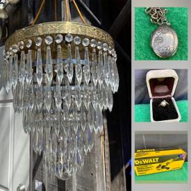 MaxSold Auction: This online auction features oil on canvas, chandelier, sterling silver jewelry, 10k gold jewelry, DeWalt grinder, Canadian coins, LEGO, albums, bone china, graphic novels, jewelry making tools and supplies and much more!
