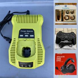 MaxSold Auction: This online auction features Liquidation sale with brand new items such as anti-blue light glasses, clothing, small kitchen appliances, jewelry, filters, USB video camera, RC vehicles, gaming gear, coins, massagers, pet supplies, fishing gear, smartwatch, hand tools, walkie talkie, security camera, learning resources, camping gear, metal detector kit, comics and much more!
