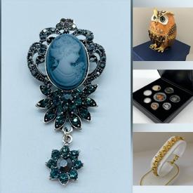 MaxSold Auction: This online auction features hockey cards, original artwork, jewelry, jade figurines and much more!