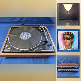 MaxSold Auction: This online auction features vinyl records, vintage electronics, art, movie posters, vintage pyrex, art glass, mcm collectibles and much more!