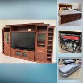 MaxSold Auction: This online auction features Basketball Goal, Dollhouse, Power & Hand Garden Tools, Projection TV, Leather Furniture, Patio Furniture, Video Game System, Large Power Tools, Camping Supplies, Guitar and much more!