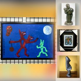 MaxSold Auction: This online auction features Signed Original Art, Sculptures, Paintings and Numbered Prints by Notable Northern Canadian Natives & Inuit artists. Including Floyd Kuptana, David Ruben Piqtoukun, Norval Morrisseau, A.J. Casson, Tom Thompson and much more.