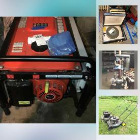 MaxSold Auction: This online auction features Pennsbury Pottery, Fire King, Pfaltzgraff, Cast Iron Stove, vintage Furniture, Electronics, Tools, Cast Iron, Vintage Toys, Vintage Trains, Vornado Fan, Gardening, Crocks, Vintage Fishing, Vintage Bicycles and much more.