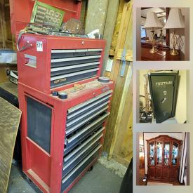 MaxSold Auction: This online auction features Christmas Tableware, Folding Pie Table, Snowbabies Collection, LPs, DVDs, Coins, Scuba Gear, Costume Jewelry, Frederick Remington Statue, Small Kitchen Appliances, Office Electronics, Power & Hand Tools, Welding Tools, Yard Tools, Safe, Bowflex and much more!