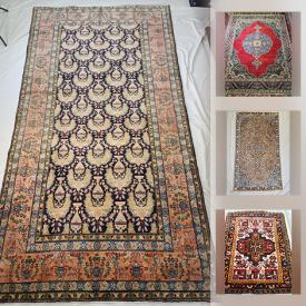MaxSold Auction: This online auction features authentic, antique, and rare Persian rugs. All rugs are collected from different regions of Iran and are hand-knotted Persian rugs. Located at Thornhill Persian Rugs and much more.