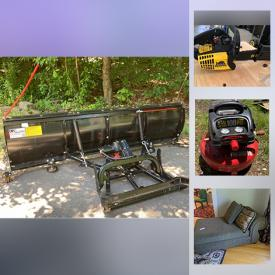 MaxSold Auction: This online auction features Curio cabinet, chainsaws garden tools, high-pressure washer, air compressor, floor buffers, guitar wicker furniture, collectible model cars & trucks, exercise equipment, patio furniture, Air Hockey table, ping pong table, basketball hoop, commercial vacuums and much more!