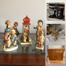 MaxSold Auction: This online auction features furniture such as a dresser, headboard, nightstand, bookcase, antique secretary desk, bureau, buffet, dining table and chairs, desk and more, kitchenware, Cuisinart mixer, cut crystal, Lenox Versailles serve ware, linens and much more!