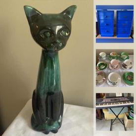 MaxSold Auction: This online auction features MCM Furniture, Wine Rack, BBQ Grill, Art Glass, Collectible Plates, Collectible Teacups, TV, Pet Supplies, Small Kitchen Appliances, Printers, Office Supplies, Exercise Equipment and much more!