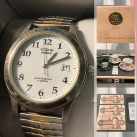 MaxSold Auction: This online auction features Coins, Banknotes, Stamps, Collectible Teacups, Jewelry, Masonic Papers, Stamp Accessories, Ottawa Senators Collectibles, Video Game Systems, Office Supplies, Vintage Postcards, Cat Collectibles, Toys, Power & Hand Tools, Board Games, Camping Gear and much more!