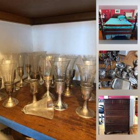 MaxSold Auction: This online auction features International Art, Vintage Books, Small Kitchen Appliances, Hope Chest, Tea Cart, Barware, Art Supplies, Art Books, Exercise Equipment, TV, Board Games, Apple Pencil, Tools, Jewelry, Watches and much more!