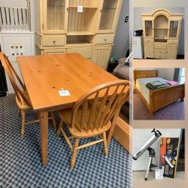 MaxSold Auction: This online auction features Garden Tools, Royal Doulton Bunnykins, Owl Collection, Power Recliner, Custom Jewelry, Sleigh Bed Frame, Exercise Equipment, Power & Hand Tools, Art Pottery, Telescope, Cross Country Skis, Hornsby Trains, Coins, Stamps, Jade Carvings and much more!