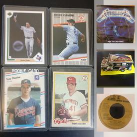 MaxSold Auction: This online auction features Sports Cards, LPs from all genres, Video Games, Stickers, DVDs, Graphic Novels, Comics, CDs and much more!