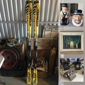 MaxSold Auction: This online auction features Stereo Equipment, Royal Doulton Figurines, Costume Jewelry, Art Glass, Wood Carvings, NIB Model Kits, Model Car Display Cases, Assembled Model Kit Cars, NIB Household Items, DVDs, Air Brushing Kit, NIB 3D Metal Models, MCM Desk, Skis, Collector Plates and much more!
