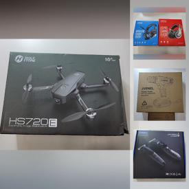 MaxSold Auction: This online auction features New in Box Items such as Drone, Beauty Appliances, Action Cameras, Massagers, Power Tools, Gaming Gear, Workout Gear and much more!