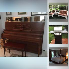 MaxSold Auction: This online auction features Games, Toys, Video Game System & Games, Scrapbooking Supplies, Pool Table, Area Rugs, Vintage Upright Piano, Men's & Women's Clothing, Electric Heater, Patio Furniture, Golf Clubs, Garden Tools, and much more!