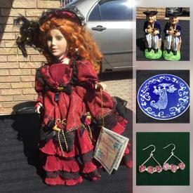 MaxSold Auction: This online auction features Jewelry, Collectible Plates, Cranberry Glass, James Saddler Teapots, Collectible Dolls, Art Pottery, Art Glass, Crystal Points, Pet Supplies, Egyptian Papyrus Paintings and much more!
