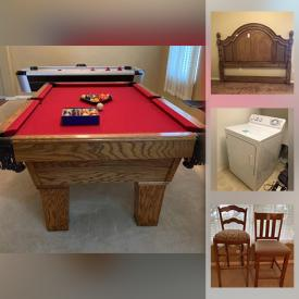 MaxSold Auction: This online auction features Pool Table, Air Hockey Table, Area Rugs, TVs, Small Kitchen Appliances, Winemaking Supplies, Pet Supplies, Electric Dryer, Chest Freezer, Golf Clubs, Power Tools, Fishing Gear and much more!