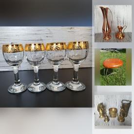 MaxSold Auction: This online auction features Antique Brass, Depression Glass, Vintage Pyrex, Vintage Blue Fenton Glass, Milk Glass, Art Pottery, Vintage Libbey Glassware, Art Deco Vase, Pyrex Teapot and much more!