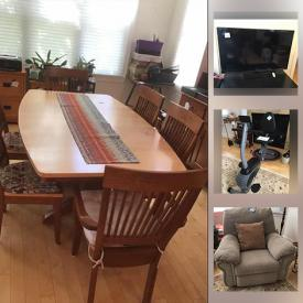 MaxSold Auction: This online auction features Salt & Pepper Shakers, Small Kitchen Appliances, Office Equipment, TVs, Exercise Equipment, Leather Recliner, Fiesta Ware, Framed Wall Art, Jewelry, Sports Equipment, Area Rugs, Wicker Furniture, Barrister Bookcases, Patio Furniture, Depression Glass and much more!