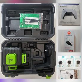 MaxSold Auction: This online auction features New in Box Items such as Mini-Fridge, Drone, Video Doorbell, Wifi Cameras, Tablets, Pet Supplies, Selfie Ring Light, Power Tools and much more!