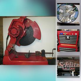 MaxSold Auction: This online auction features Neoclassic Samovar, Eastlake Style Chairs, TVs, Live Plants, Vintage Bar Sign, Power, Air & Hand Tools, Rolling Toolbox, Artificial Grass, Portable & Window AC Units, Craft Supplies, Steel Wagon and much more!