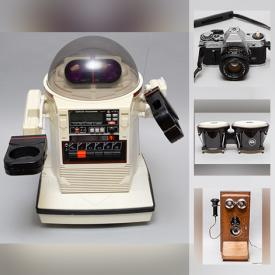 MaxSold Auction: This online auction features Sewing Machine, Camera Equipment, Pipes, Video Games, Telescope, Musical Instruments, Coins, Stamps, and Much, Much, More!!