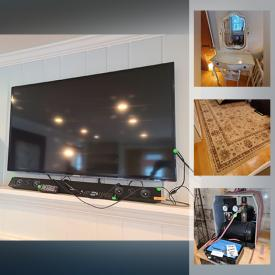 MaxSold Auction: This online auction features furniture such as a Pier 1 Imports dresser, side table, Chateau D'Ax leather couch, West Elm coffee table, vanity, West Elm dining table and chairs, drop leaf table, wicker patio furniture, wrought iron patio set, office chair, bed frame, side tables, shelving units, sofa, trundle day bed, bookcase and more, Flexible Flyer sleds, Thule car carrier, sports items, ladders, metal stands, car care items, chalkboard, aquarium items, crates, tools, display rack, hardware, ribbon and racks, kitchenware, small kitchen appliances, rugs, binoculars, lamps, luggage, dresses, hampers, books, silverplate, electronics and much more!