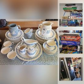 MaxSold Auction: This online auction features Artwork, Vintage Board Games, Creativity Supplies, Building Materials, Wedgwood, Singer Sewing Machine, Jewelry, Wacom Artist Tablet, Zero Gravity Chair, Camping Supplies, Pet Kennels, Concrete Mixer, Arc Welder, Row Boat, Canoe, Toys and much more.