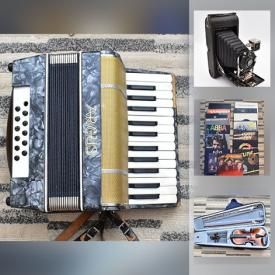MaxSold Auction: This online auction features U.S. & Canadian Coins & Banknotes, Soapstone Statues, Antique Camera, Violin, Accordion, Laptops, Camping Equipment, LPs, Computer Gear and much more!