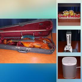 MaxSold Auction: This online auction features Marvel comics, jewelry cabinet, dresser, electronics such as Samsung Blu Ray player, NIB security system, and Xbox 360, children's toys such as Star Wars and Spider-Man, Akai keyboard, antique clock, DVDs and much more!