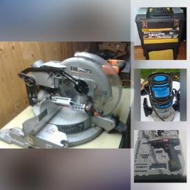 MaxSold Auction: This online auction features Hand Tools, Garden Tools, Power Tools, Outdoor Cooking Utensils Outdoor Timer Router Table, Welding Helmet, Chop Saw and much more!