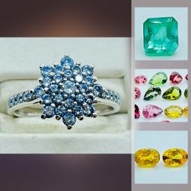 MaxSold Auction: This online auction features a Diamond & Gold ring, Fine Precious & Semi-Precious loose, cut, Gemstones, Pearls and more!
