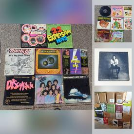 MaxSold Auction: This online charity/fundraising auction features LPs such as Disney, Smurfs, Dean Martin, Polka, Female Solo Artists, Male Solo Artists and much more!