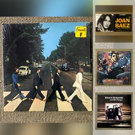 MaxSold Auction: This online auction features LPs such as The Beatles, Donovan, Boz Scaggs, ABBA, Michael Jackson, Gordon Lightfoot, Bette Midler, and Bob Dylan, blues guitar DVD lessons and much more!