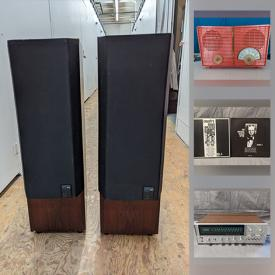 MaxSold Auction: This online auction features record albums, including a treasure trove of rare country blues, folk, gospel, and antique tube radios, vintage audiophile stereo electronics, video game systems and more.
