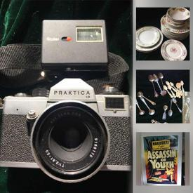 MaxSold Auction: This online auction features Hummel, Wedgwoods, Beverage Dispenser, Ceramic Art Bowls, Cherubs, Pottery Art, Toys, Posters, Pocket Cutting Tools, Games, Puzzles, Decorative Plates and much more!