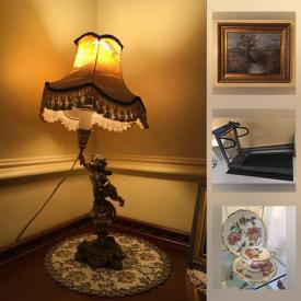 MaxSold Auction: This online auction features Art Glass, Vintage Club Chairs, Antique Blue Delft, Rosenthal Pompadour Collectibles, Demitasse Spoons, Roll of Textiles, Vintage/Antique Purses, Area Rugs, Leather Lounge Chairs, Day Beds, Patio Furniture, Bikes and much more!