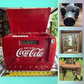 MaxSold Auction: This online auction features Vintage Teapot Collection, Beer Steins, Longaberger Baskets, Antique Bottles, Hummel Plates, Vintage Cookie Jars, Antique Irish Mail Cart, Collectible Teacups, LPs, Framed Wall Art, Student Drum Kit and much more!