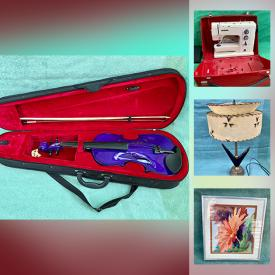 MaxSold Auction: This online auction features Balloon Dog Figure, Antique Violin, Video Game System, Stamps, Inuit Soapstone Carving, Legos, Amber Glass, Watches, Hummels, Art Pottery, Toys, Vintage Books, Jadeite, Collector Plates, Collectible Teacups and much more!